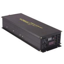 Чистая синусоида солнечный инвертор 24 V 230 V 3000 W фары для автомобиля батарея с инвертирующим усилителем мощности Питание Инвертор постоянного тока в переменный преобразователь 12/48 V до 120 V/220 V/240 V