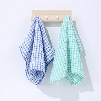 3 Colors Key Towel Hanger Holder Storage Wall Hook Rack DIY Organizer 4 Hooks Shelf Hanging Mount Home Decor 5