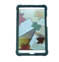 M3 MingShore Para Huawei MediaPad 8.4 W09 BTV-DL09 A Prueba de Golpes Caso de la Cubierta de Silicona para Huawei 8.4 pulgadas M3 Bumper de Silicona