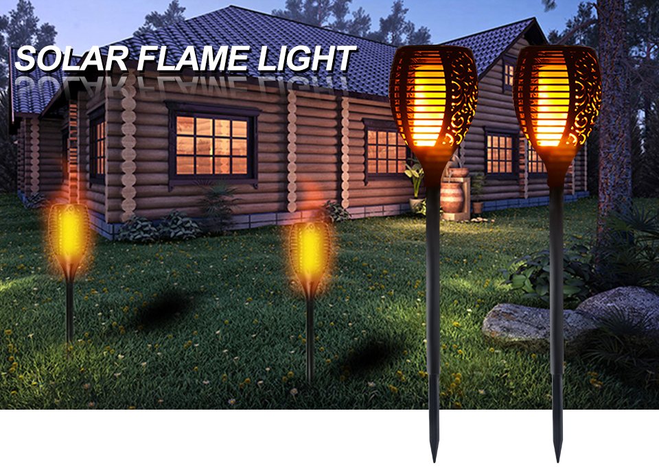 New solar flame led flame light fire effect lawn lamps torch light new solar flame led flame light fire effect lawn lamps torch light realistic flicker ip65 outdoor workwithnaturefo