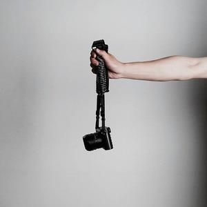 Image 4 - Mr.stone اليدوية جلد طبيعي شريط كاميرا كاميرا الكتف حزام حبل المظلة الحبل الحياكة (حزام الكتف قابل للتعديل)