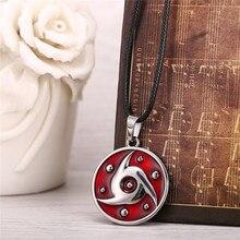 Naruto Metal Necklace Sharingan Pendant