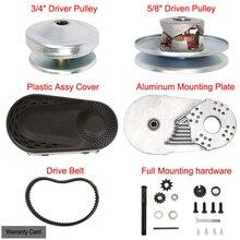 VEVOR NEW Go Kart Torque Converter Kit CVT Clutch 1