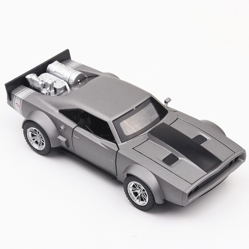 KD 1/32 Die Cast Vehicles Model Car Collection&Toy Car 15.5 Cm 3 Openable Doors W/Light And Music Fast And Furious