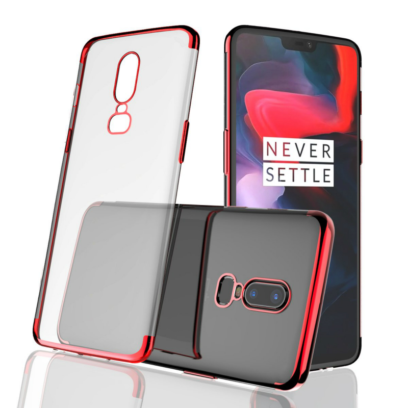 Shockproof Thin Silicone <font><b>Case</b></font> For <font><b>Oneplus</b></font> 6 <font><b>6T</b></font> <font><b>Case</b></font> Soft TPU <font><b>Bumper</b></font> Back Protective Slim Cover for <font><b>Oneplus</b></font> 5 5T Oneplus6 <font><b>6T</b></font> image