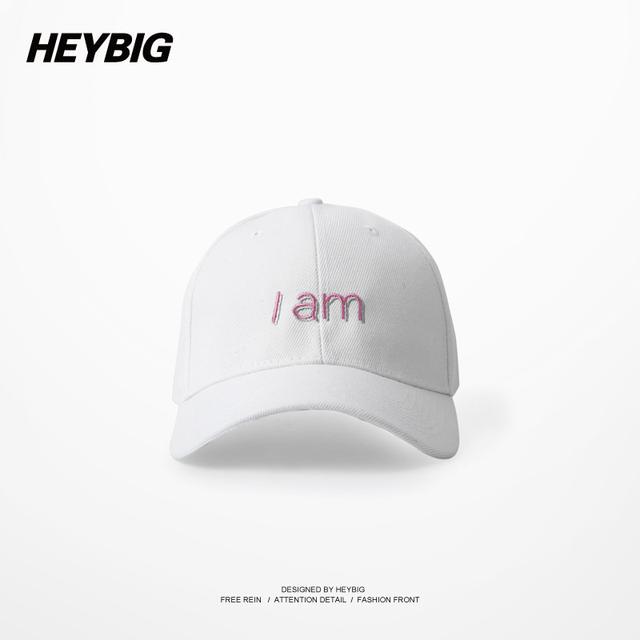 Ulzzang Harajuku Menina Feminino Chapéu de Golfe HEYBIG hip hop do boné de Beisebol ajustável Verão suave Headwear