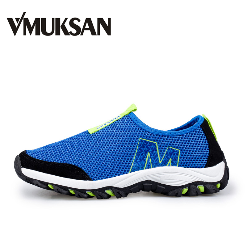 VMUKSAN Mens Casual Shoes BIG SIZE 39-45 Lightweight Spring Men Shoes Breathable Air Mesh Slip On Loafers For Men