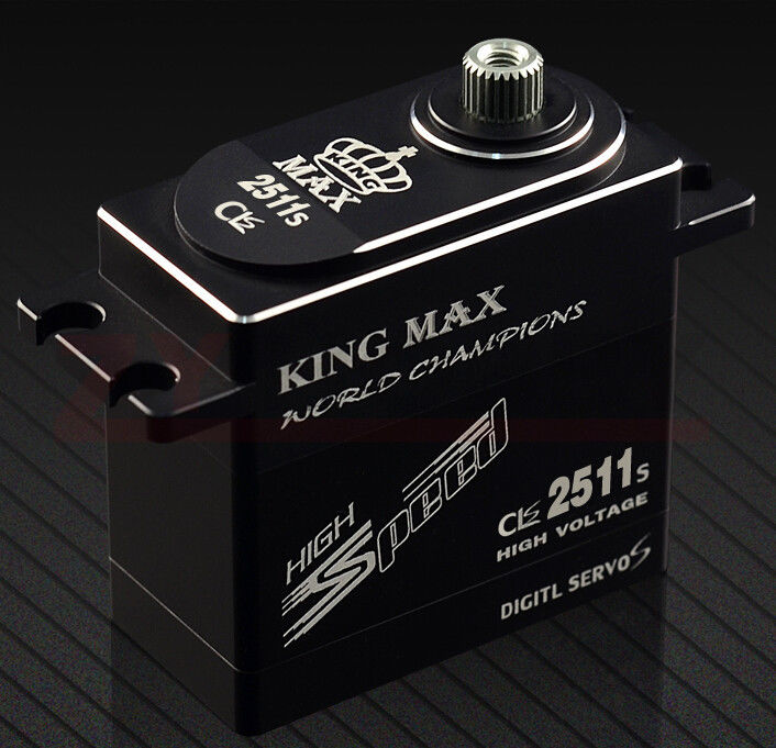 KINGMAX CLS2511S 80g 25kg.cm torque metal gears digital coreless standard servo fk sports cls 824