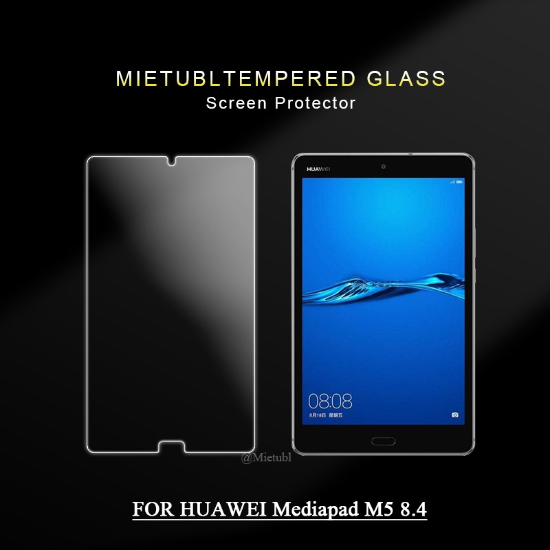 """9H Tempered Glass Protector Guard For 8.4/"""" Huawei MediaPad M5 8.4 SHT-W09//AL09"""