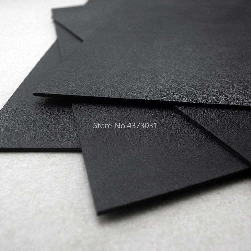 Black Diy Knife material Making knife K sheath case Kydex K200 Hot plastic plate Python maple leaves Symbol 300*300*1.5mm/2mm