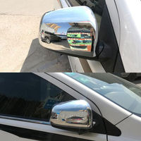 BBQ@FUKA ABS Chrome Car Door Side Rear View Mirror Cover Trim For Mitsubishi Lancer 2008 2014
