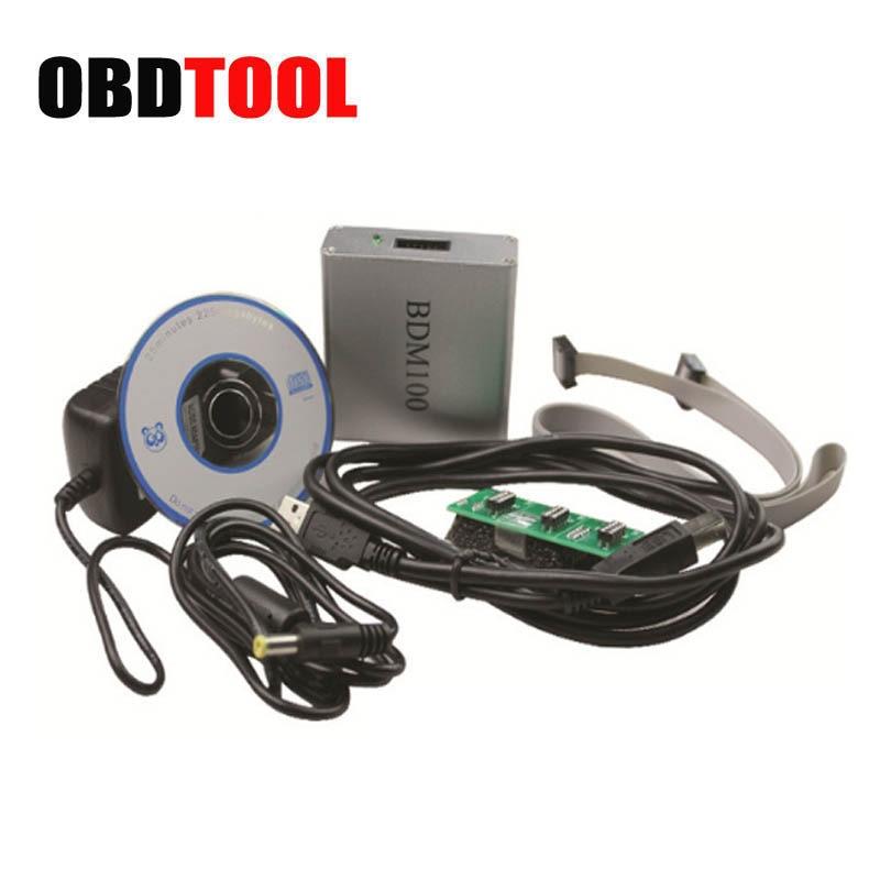 Высокое качество ЭБУ Flasher BDM 100 ЭКЮ программист BDM100 ЭБУ чип инструмент настройки ECU чтения V1255 пересчет контрольной суммы программы ...