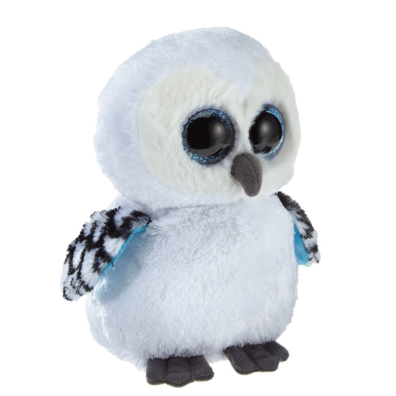 TY Beanie Boos Spells Owl 6 Plush kawaii Toys For Children Stuffed Pets Toy S229 ty collection beanie boos kids plush toys big eyes slick brown fox lovely children gifts kawaii stuffed animals dolls cute toys