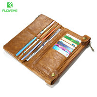 FLOVEME High Quality 5 5 Leather Phone Bag Case For IPhone 7 7 Plus 5 5s