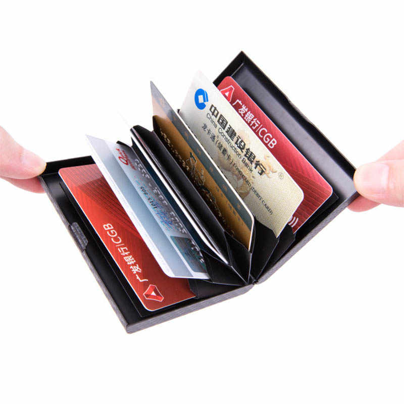 RFID parche de cuero en relieve en viaje de portatarjetas de crédito tarjetas de Tranvía Tren De Ostra