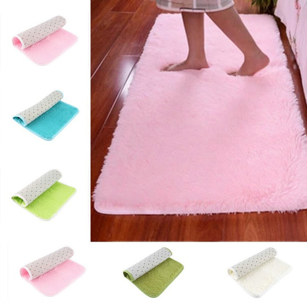 Hot Sale Plush Shaggy Soft Carpet Area Rugs Slip Resistant Floor Mats For Parlor Living Room