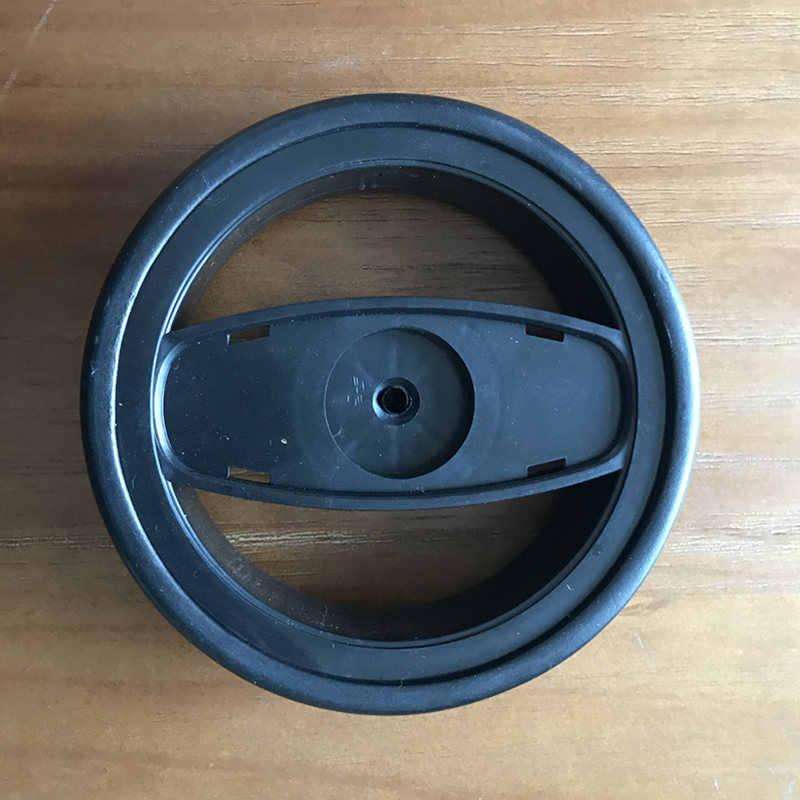 Piezas de repuesto para cochecito de bebé ALWAYSME 1 Uds., ruedas universales para cochecito, ruedas delanteras traseras, diámetro de rueda, 136mm de ancho, 36mm de agujero, 6mm