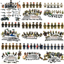 2017 Weltkrieg 2 every nation crusade military army gun mannequin constructing block toy Military Figures suitable LegoINGlys