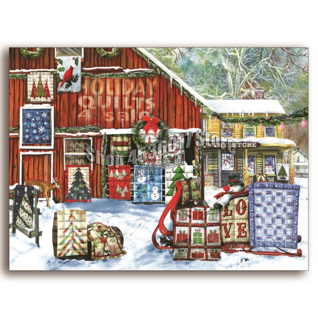 Spruce Home Decor Gift Store: Aliexpress.com : Buy Holiday Quilts DIY Diamond Painting