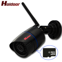 Holdoor 940nm Black IR LED Camcorder IPC Wireless IP Camera WiFi Full HD 1080P 2 0MP