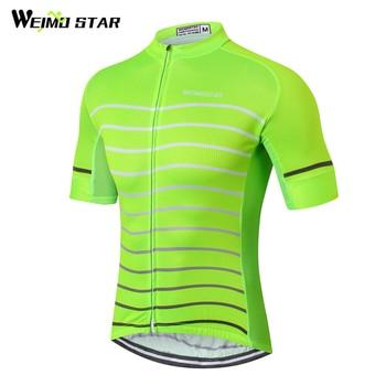 Weimostar 2019 الدراجات جيرسي رجل قصيرة الأكمام دراجة جيرسي قميص تنفس دراجة الدراجات الملابس Roupa دي روبا Ciclismo