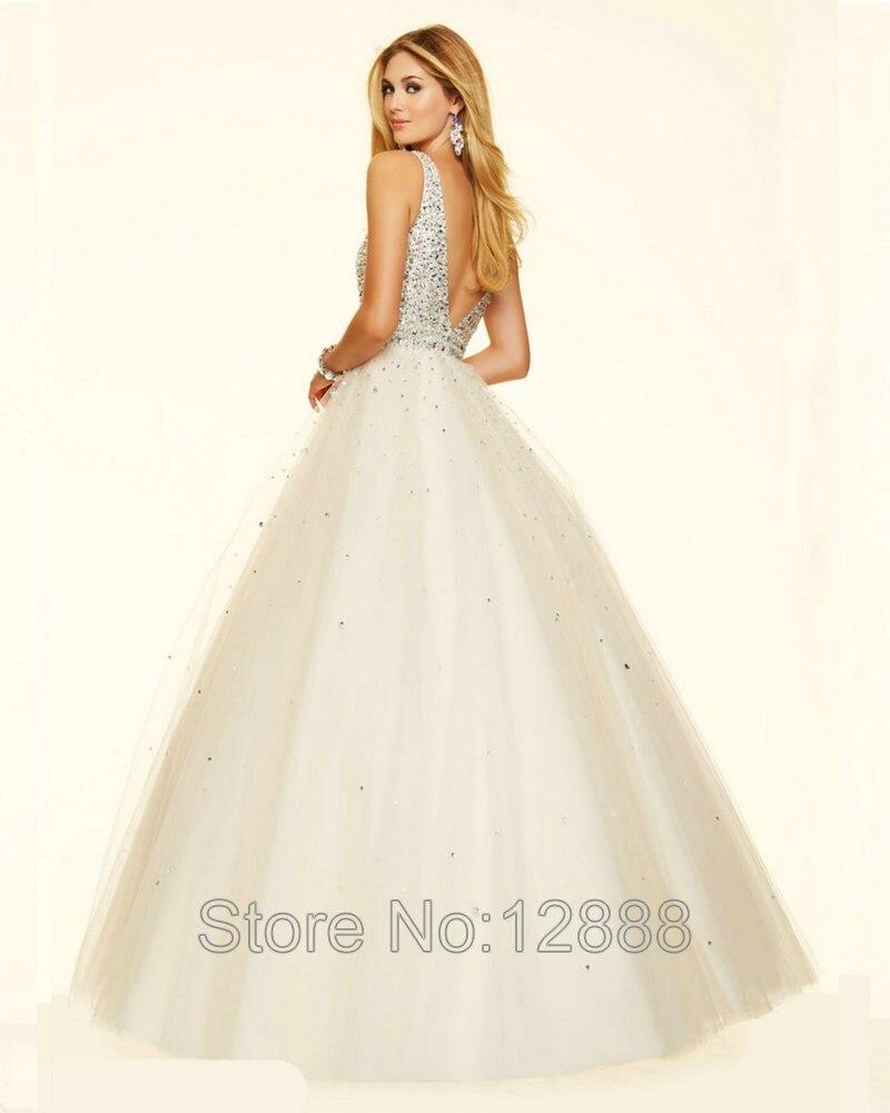 Style 98127 Royal Blue Prom Dresses V neck A line Sleeveless Red ...