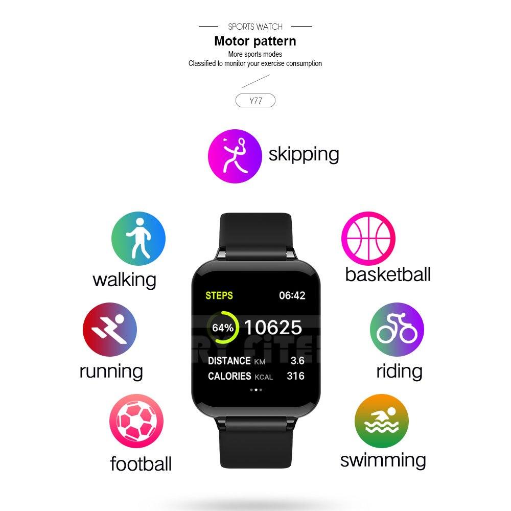 VERYFiTEK AW4 inteligentny zegarek bransoletka fitness zegarek ciśnienie krwi częstotliwość akcji serca Monitor IP67 mężczyzna kobiet smartwatch sportowy