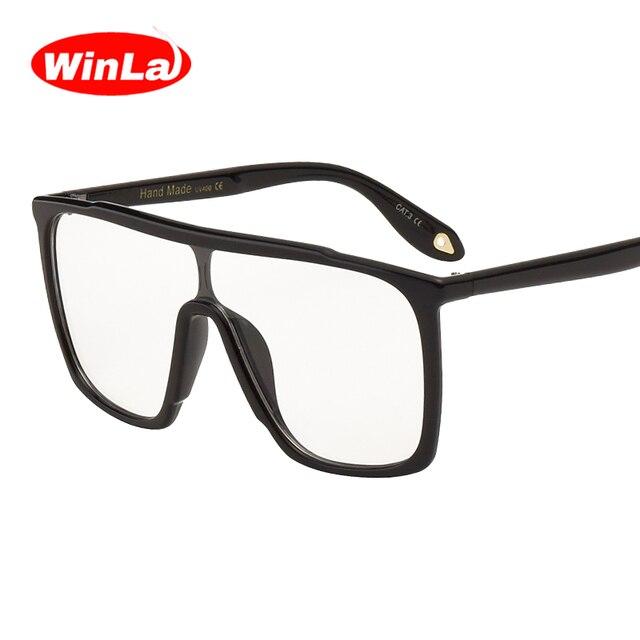 Winla Vintage Square Optical Glasses Original Brand Designer Plain ...