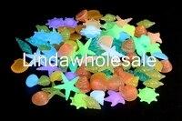Luminous kamień dekoracji akwarium, akwarium tle piasku, Luminous jarzeniowe kamień, 100 sztuk/partia