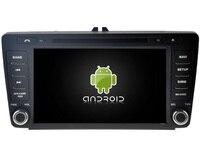 Android CAR Audio DVD Player FOR SKODA Octavia II 2004 2011 Gps Car Multimedia Head Device