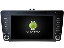 Android 7.1 CAR Audio DVD player FOR SKODA Octavia II 2004-2011 gps car Multimedia head device receiver support DVR WIFI DAB OBD
