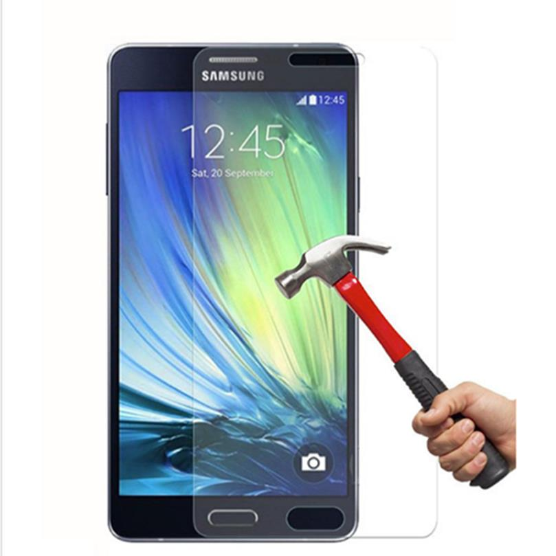 0 26mm Screen Protector Explosion Proof On Phone 2 5D Tempered Glass Film For Samsung GALAXY Alpha G850 G850F G8508 G8508S G8509 in Phone Screen Protectors from Cellphones Telecommunications