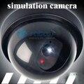 Indoor/Outdoor Home CCTV Segurança Vigilância Falso Manequim Câmera com um flash vermelho DIODO EMISSOR de Luz