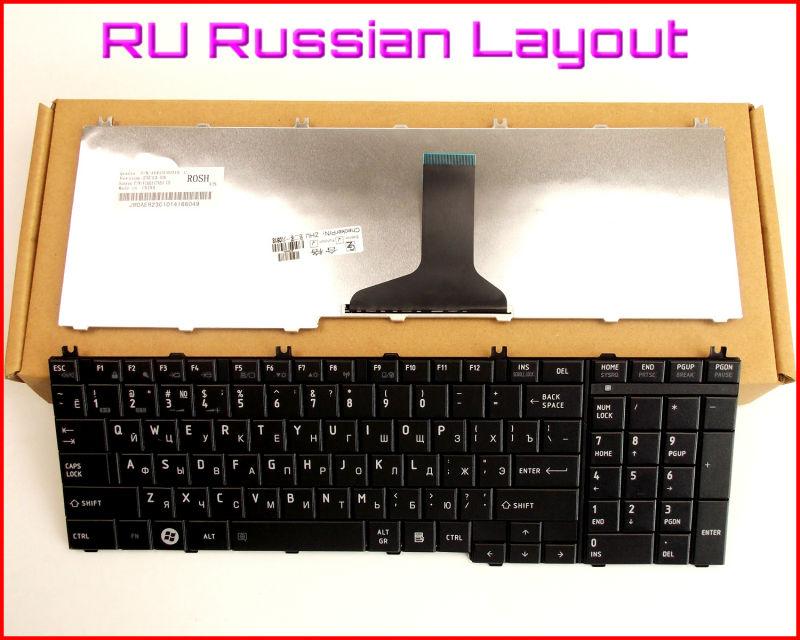 New Keyboard RU Russian Version for Toshiba Satellite NSK-TN0SV NSK-TN0SC NSK-TN0GV NSK-TN0SV 01 TN0GQ01 Laptop Black