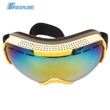 Ski-Goggles Snowboard Goexplore Anti-Fog Double-Layer Women 100%Uv-Protection Outdoor