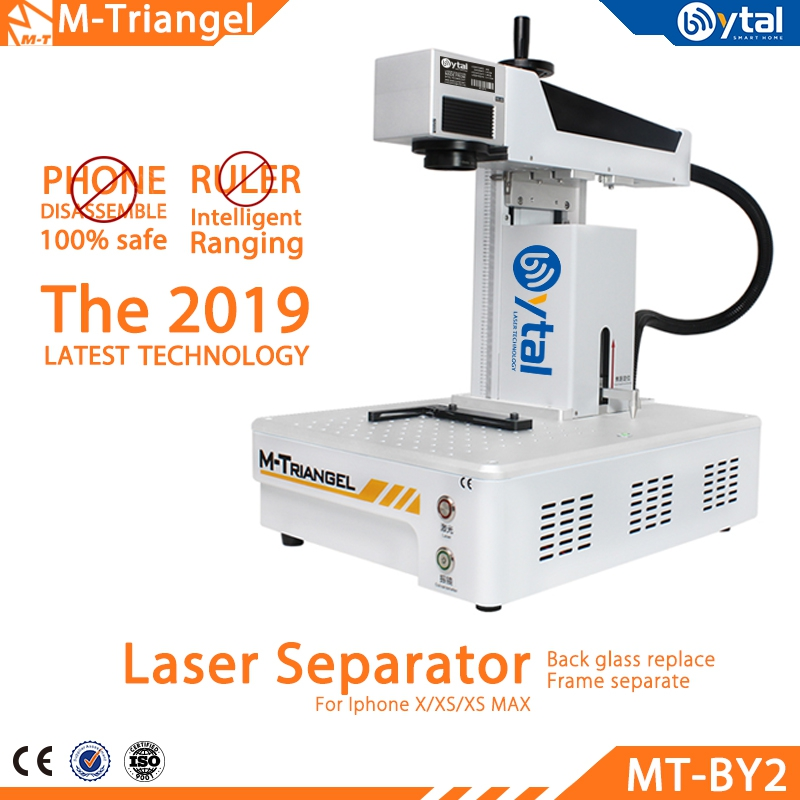 Laser Machine For IPhoneX XS Max 8 8+ Back Glass Remover LCD Frame Repair Separator Laser Cutting Machine M-Triangel BY-02