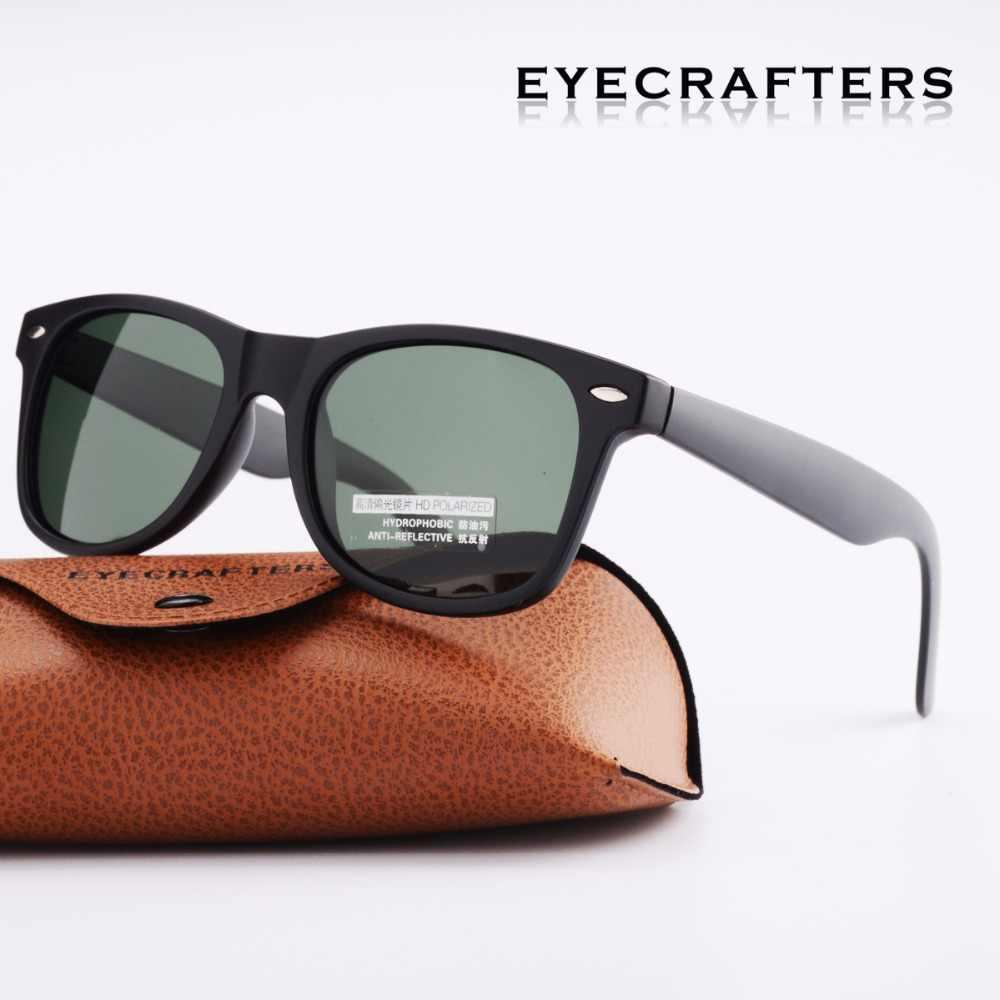 dfcecbd9e45 G15 Green Retro Sunglasses Eyewear Vintage Mens Womens Fashion Eyecrafters  Polarized Sunglasses Driving Mirrored UV400 C2140