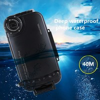 Professional Waterproof Heavy Swimming Dive Case for iphone 7 8 6 plus Shockproof Outdoor Diving phone case for iphone X 6S 7 8