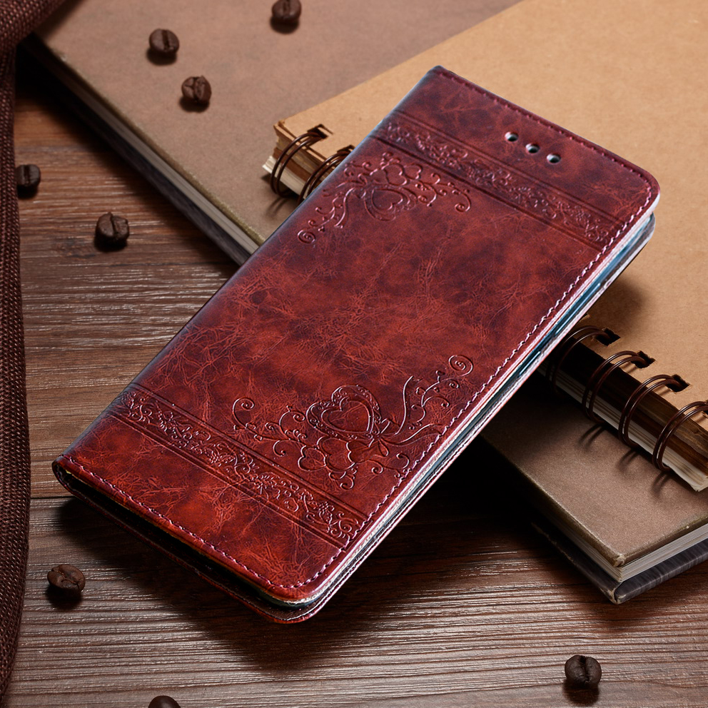 Leather Case for Samsung A3 A5 A7 2017 J5 J7 2016 Note 8 S8 S9 Plus S7 S6 Edge S5 Flip Cover for iPhone 6 6s 7 8 Plus 5 5s SE X