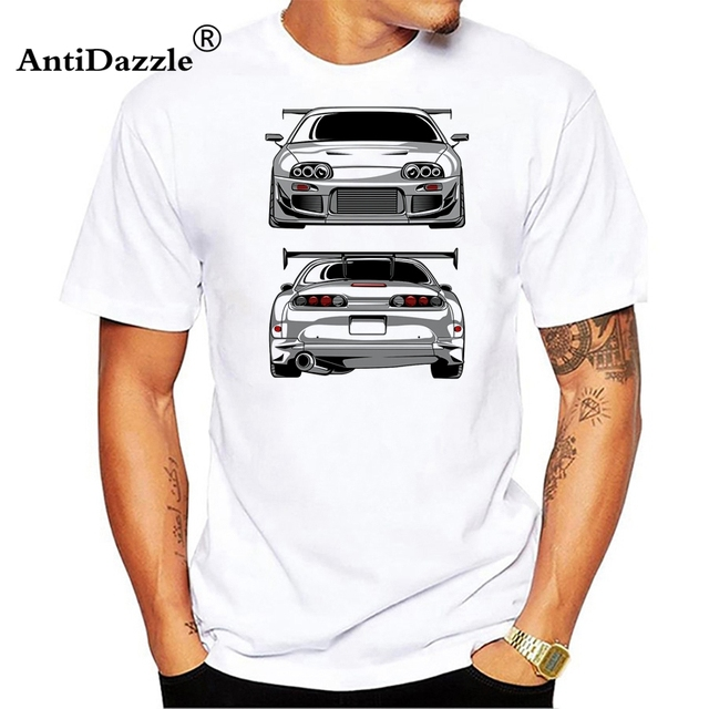 16019a491dca Fashion GTR Cars T Shirt Men Short Sleeve Cotton T Shirts AE86 Skyline True  Japan Men