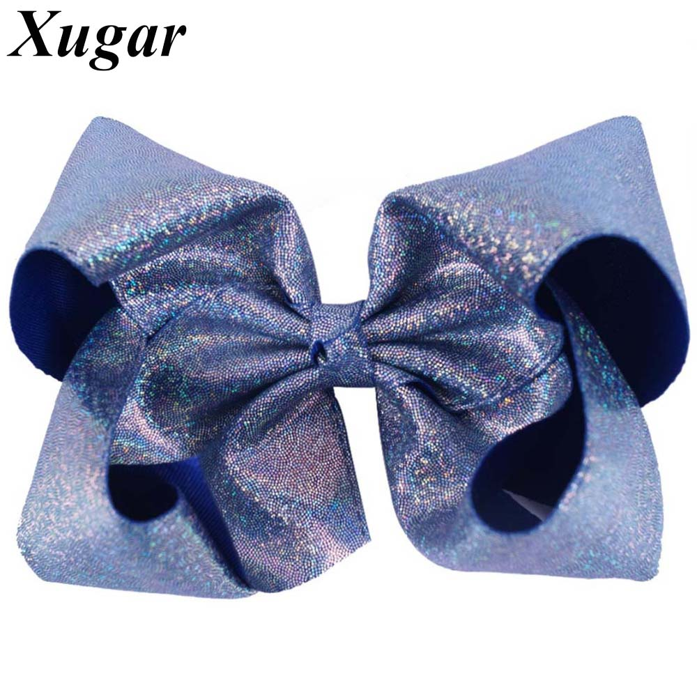 7 Inch Dance Party Girls' Large Hair Bow with Clip Boutique Bowknot Hairgrips For Children Christmas Gift Hair Accessories matisse dance with joy