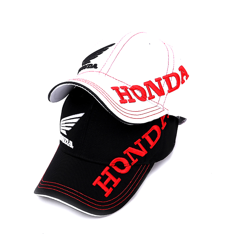 Mens Snapback   Caps   HONDA Motorcycle Embroidery   Baseball     Cap   Hat Adjustable Casual Sun Hats Trucker   Cap   chapeu NZ047