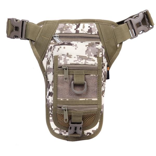 Multi-functional Army Durable versatile camouflage saddle Waist bag mountaineering outside waterproof tactical pocket CS-151