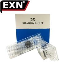 2 шт. любезно лампы для BMW X5 E53 E39 Z8 ВОДИТЬ Автомобиль Дверь Добро пожаловать Света двери автомобиля логотип проектор призрак лазерная Тень Лампа для BMW