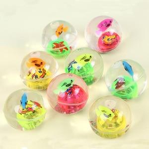 Image 4 - كرة كذاب مطاطية وامضة 5.5 سنتيمتر كرة مضيئة كرة مقاومة للإجهاد LED كرة ضد الإجهاد لعب ممتعة للأطفال