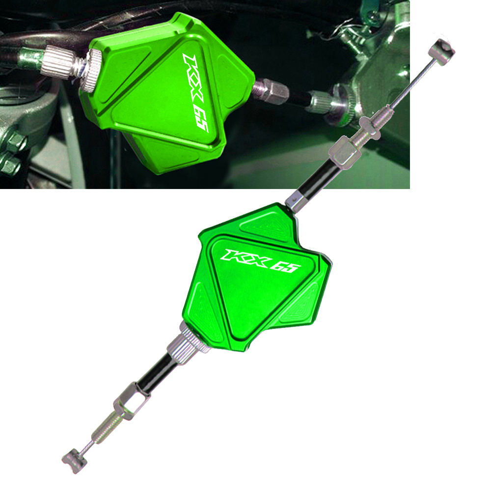 For Kawasaki KX65 2000-2018 2005 2006 2007 2008 2010 2011 2012 2013 2014 2015 2016 CNC Stunt Clutch Lever Easy Pull Cable System