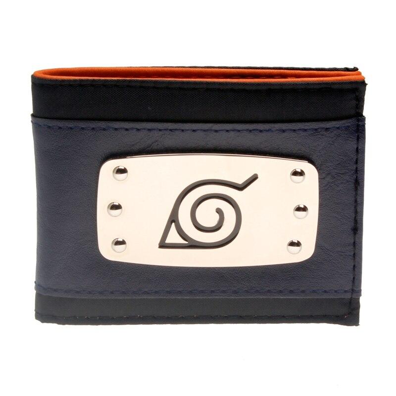 Naruto สีฟ้า Bi - Fold กระเป๋าสตางค์ DFT-3102