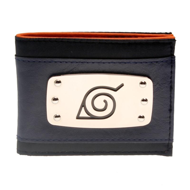 Naruto blauw Bi-Fold Portemonnee DFT-3102