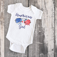 American 4th of July Tee Celebration Set Mom and Daughter Sh