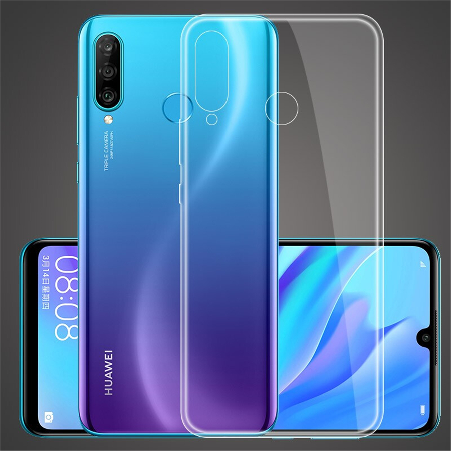 Transparent TPU <font><b>Case</b></font> For Huawei P20 P30 Mate 20 10 Lite P Samrt Plus Y6 Y7 Y9 2019 Nova 4 <font><b>Case</b></font> For Huawei <font><b>Honor</b></font> 10i <font><b>20i</b></font> 8X image